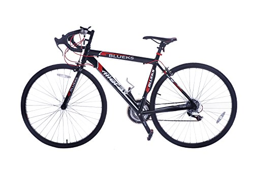Review Of Merax 21-Speed 700C Aluminum Road Bike Racing Bicycle, 54CM Red