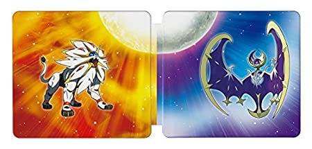 Pokémon Sun and Pokémon Moon Steelbook Dual Pack - Nintendo 3DS (Amazon Exclusive)