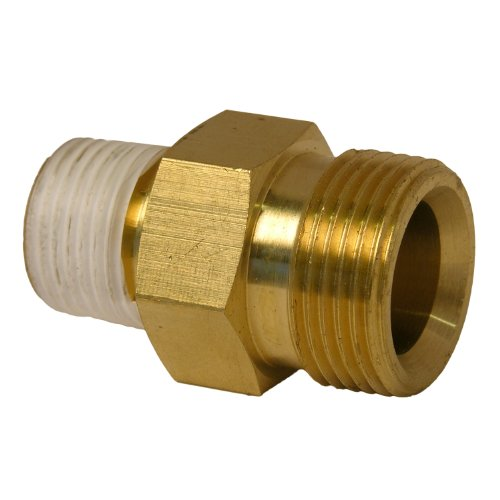 LASCO 60-1057 Pressure Washer High Pressure,Karcher 22MM Adapter Fitting X 3/8-Inch Brass Male Pipe Thread (High Pressure Washers compare prices)