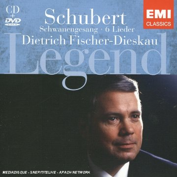 Legend: Schwanengesang / 6 Lieder (Dietrich Fischer-Dieskau) : CLA 3024 x 2 CD