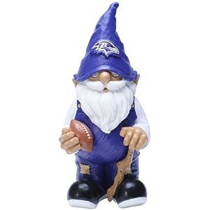 NFL Baltimore Ravens Garden Gnome