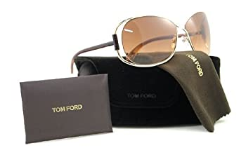 TOM FORD SUNGLASSES TF156 TF 156 28F BROWN EUGENIA