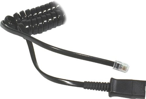 Plantronics Amplifier Coil Cord to QD Modular Plug, 26716-01