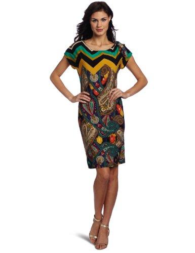 Annalee & Hope Women's Lavishing Lightning Printed Dress