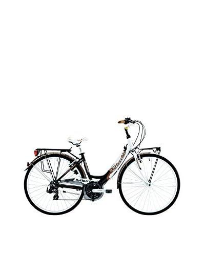 BOTTECCHIA Bicicleta 752 Monotubo 28″ 21V D H48  Negro / Blanco