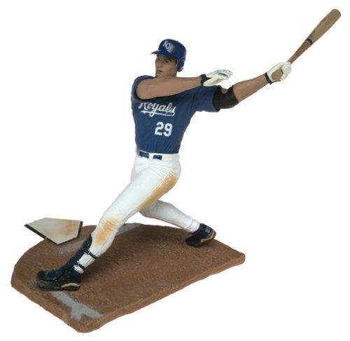 McFarlane Toys MLB Sports Picks Series 6 Action Figure Mike Sweeney Kansas City Royals Blue JerseyB0000AV7HI
