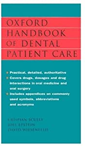 Oxford Handbook of Dental Patient Care Free Download 41BYEw7x13L._SY300_