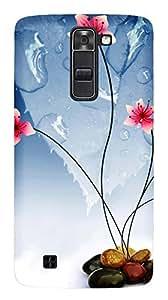 TrilMil Premium Design Back Cover Case For LG Spirit