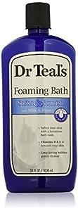 Dr. Teal's Foaming Milk Bath with Milk and Honey, 34 Fluid Ounce