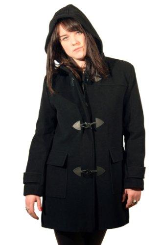 De La Creme - Wool Womens Winter Duffle Coat