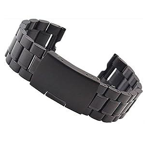 fenguh 22mm Acero Inoxidable Venda De Reloj Pulsera Correa de Repuesto Replacement Watch Bands para Motorola Moto 360 Smart Watch+Herramientas de Instalación marca fenguh