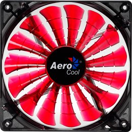 Aero Cool Shark 140mm Computer Case Fan, with 3 to 4 pin Converter Ca