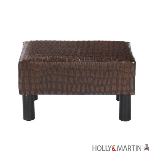 Holly & Martin 75-108-053-3-44 Gerard Foot Stool, Alligator