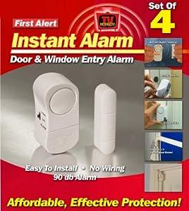 First Alert Instant Alarm 4pk