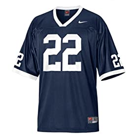 Nike Navy Replica #22 Penn State Nittany Lions Football Jersey
