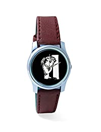 BigOwl The Composed Reality Painting Analog Men's Wrist Watch 2115074536-RS2-S-BRW