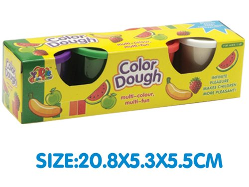 Four Color Mud Play Dough