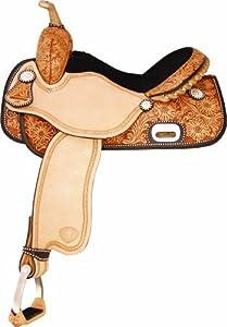 Tex Tan Money Round Saddle