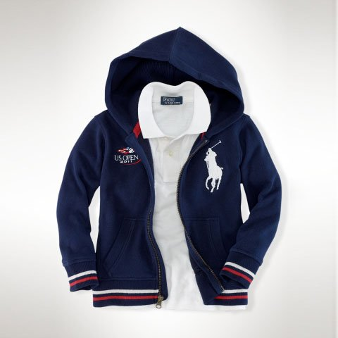 Ralph Lauren Mens Jersey Hoodie (UK XL)