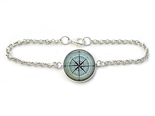 compass-bracelet-nautical-jewelry-travelers-wanderlust-mariners-compass-chain-link-bracelet-in-bronz