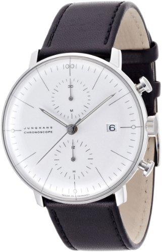[ユンハンス]JUNGHANS 腕時計 マックスビルクロノスコープ 027 4600 00 メンズ 【正規輸入品】