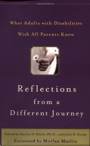 Reflections from a Different Journey : What Adults with...