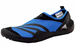 adidas Outdoor Men\'s Climacool Jawpaw Slip-On Water Shoe, Shock Blue/Black/White, 11 M US