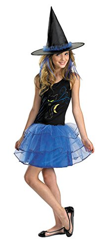 Girls - Midnight Witch Jr 7-9 Halloween Costume - Teen 7-9