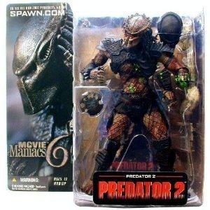 McFarlane-Movie Maniacs- Series 6-Predator 2 Movie-Predator 2 action figure w/custom accesories (Predator 2 Action Figure compare prices)