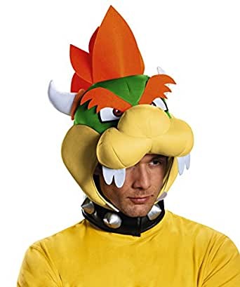 Bowser Headpiece Super Mario Brothers Bowser Costume Headpiece 85225