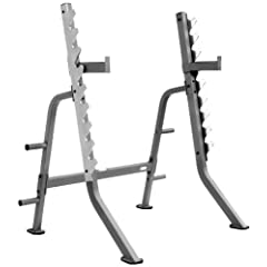 XMark Commercial Multi Press Squat Rack with Olympic Plate Weight Storage XM-7619 by XMark Fitness
