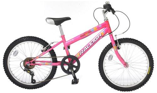Raleigh Sunbeam Girl's Mountain Bike - 20-Inch
