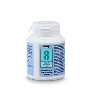 Schuessler Salz Nr. 8 - Natrium chloratum D6 - 400 Stk. Tabl., Biochemie, glutenfrei