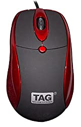 TAG USB Bravo Mouse (Red)