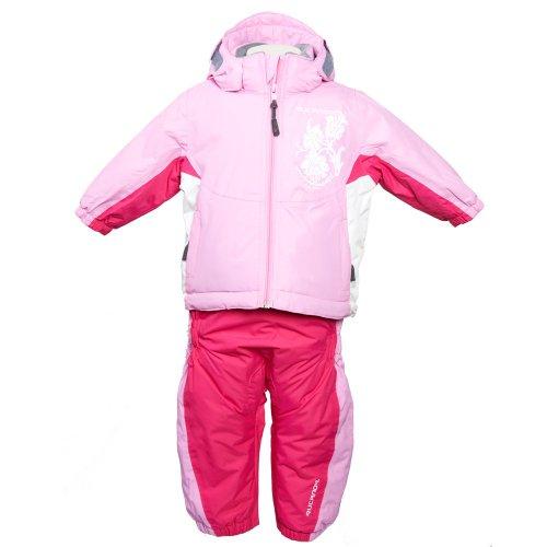 Rucanor Pink Jacket and Salopette Ski Suit