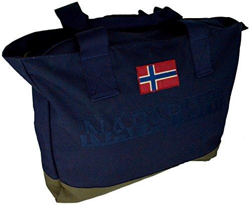 Borsa Shopping Napapijri Mayen 2B NNOR05 176 Blu Marine
