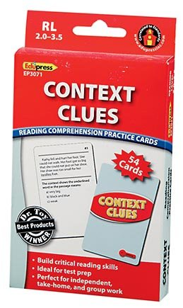 EDUPRESS Context Clues Reading Comp Red Level