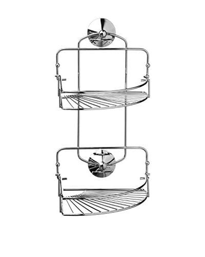 Premier Housewares Cesta de Baño 1601381 Plateado