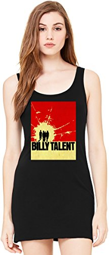 Billy Talent Tunica Smanicata Bella Basic Sleeveless Tunic Tank Dress For Women| 100% Premium Cotton| Small