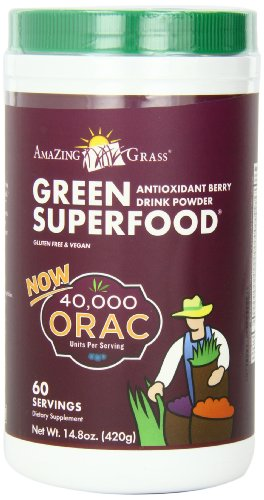 Amazing Grass Green Superfood, ORAC, 14.8 Ounce