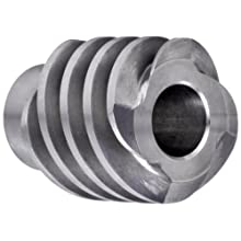 "Boston Gear DH1607 Worm Gear, 14.5 Degree Pressure Angle, 0.500"" Bore, 12 Pitch, 1. PD, RH"