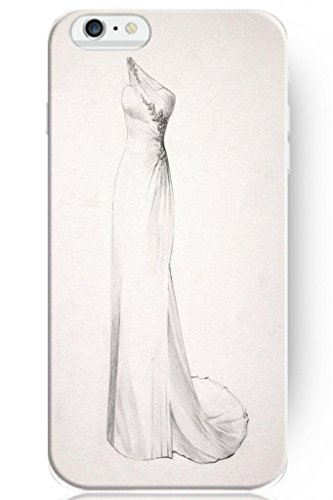 Sprawl Love Melody Design Hard Plastic Case Cover For Iphone 6 Plus (5.5'') -- Wedding Dress Quick Draw
