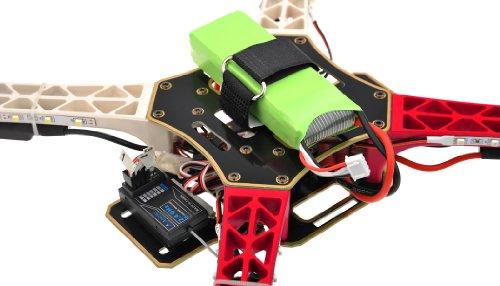 Imagen de Aerosky radio control remoto RC Quadcopter 4 canales RTF w / LED (rojo)