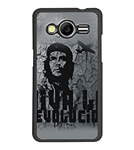 PrintDhaba Bob Marley D-5322 Back Case Cover for SAMSUNG GALAXY CORE 2 G355H (Multi-Coloured)