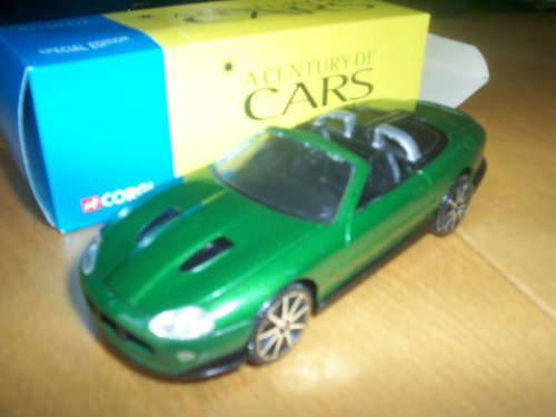 CORGI SOLIDO 1/43 SCALE DIECAST MODEL CAR - JAGUAR XKR - HACHETTE CENTURY OF CARS