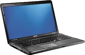 "Toshiba 17.3"" Satellite P775-S7320 Laptop - Intel® CoreTM i7 Processor / 6GB DDR3 / 750GB HDD / Blu-ray / Fusion X2 Finish in Platinum"