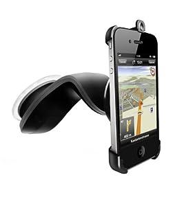 Navigon A02000092/2 - Soporte de coche con cargador para iPhone  4