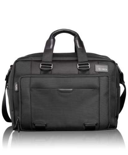 Tumi Luggage T-Tech Network T-Pass Expandable Laptop Brief, Black, One ...