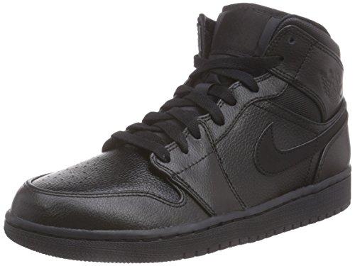 nike-air-jordan-1-mid-sneaker-per-herren-black-black-41