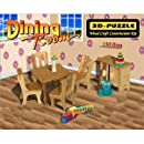 Dining Room 3d Woodcraft Construction Kit